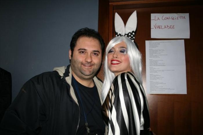 Micol Ronchi - Coniglietta Chiambretti Night - Nico
