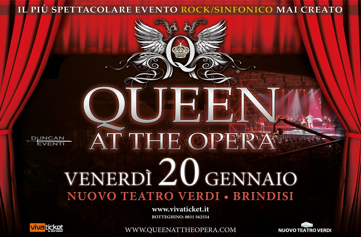 Locandina Queen at the opera